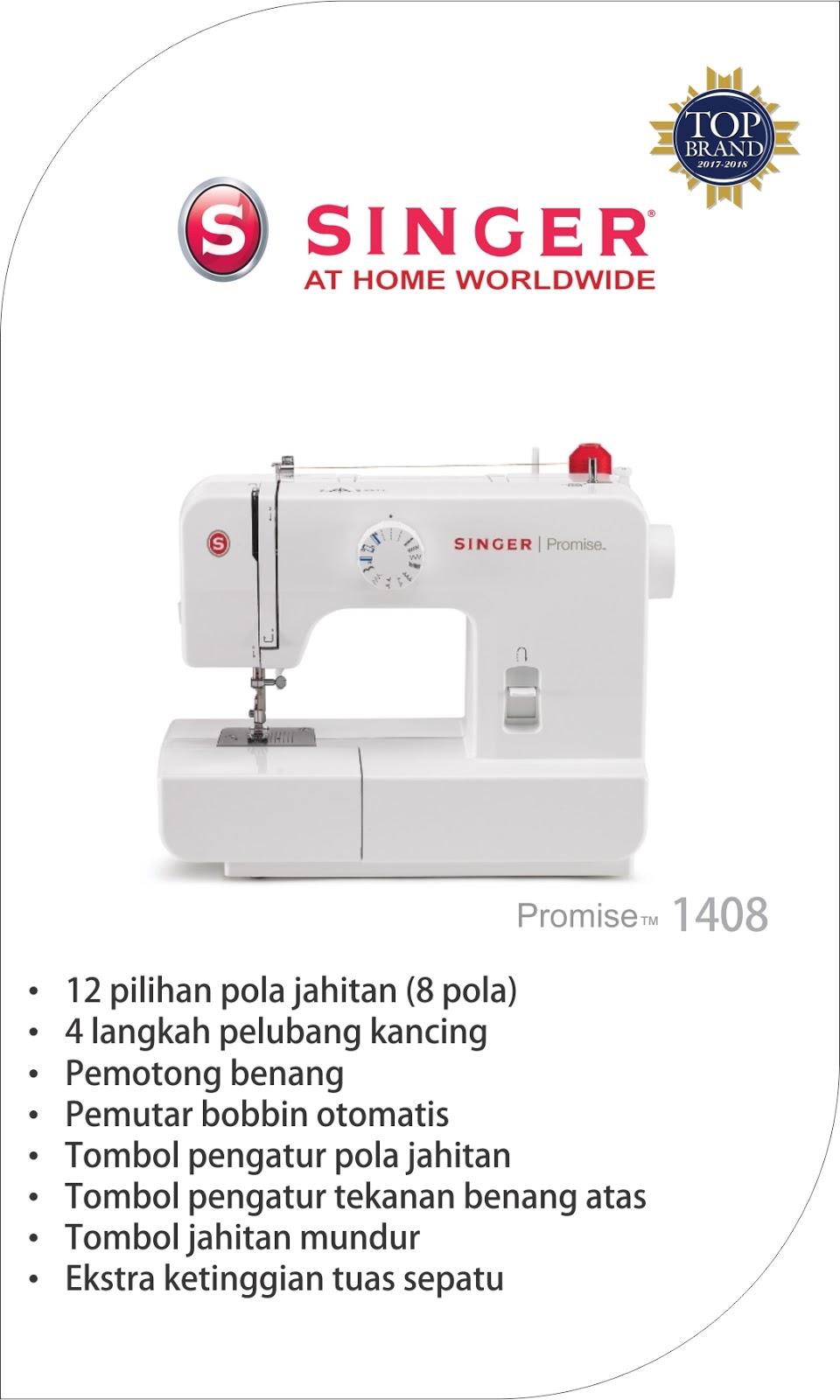 Sumber Harapan Mesin Jahit Jogja Singer 1306 Portable 1408 Promise Series