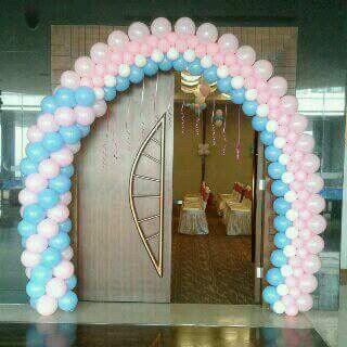 Gate dekorasi balon ultah