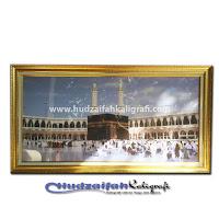 Hiasan Dinding Makkah Lampu Mp3 Murottal Al Qur'an 30 Juz