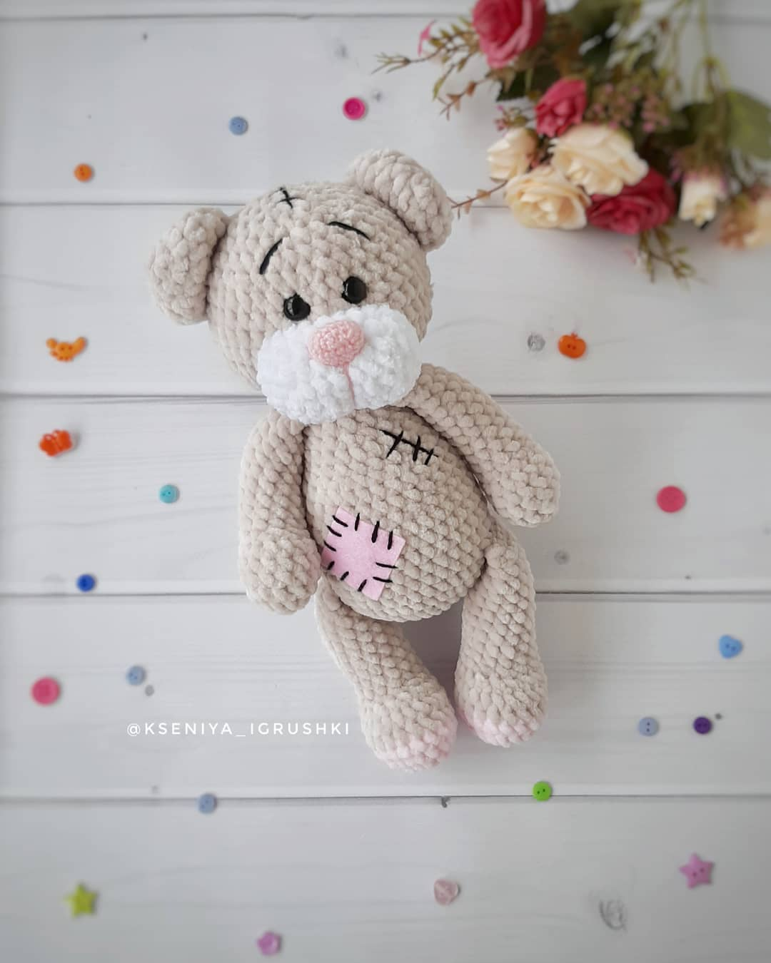 Amigurumi Teddy Bear free pattern