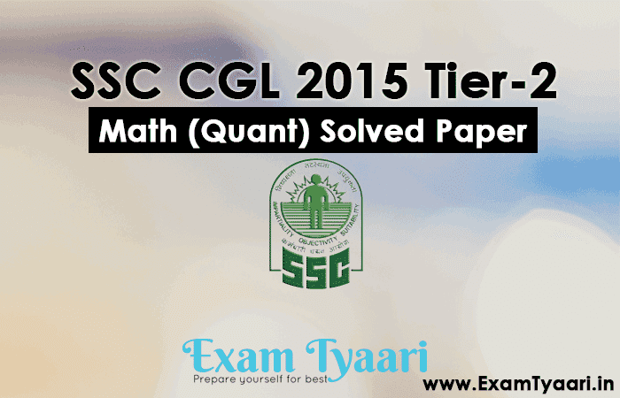 Year previous question pdf 2 tier cgl ssc paper