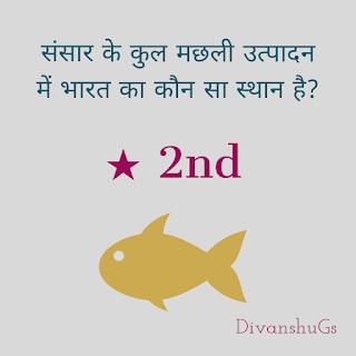 भारत मछ्ली उत्पादन