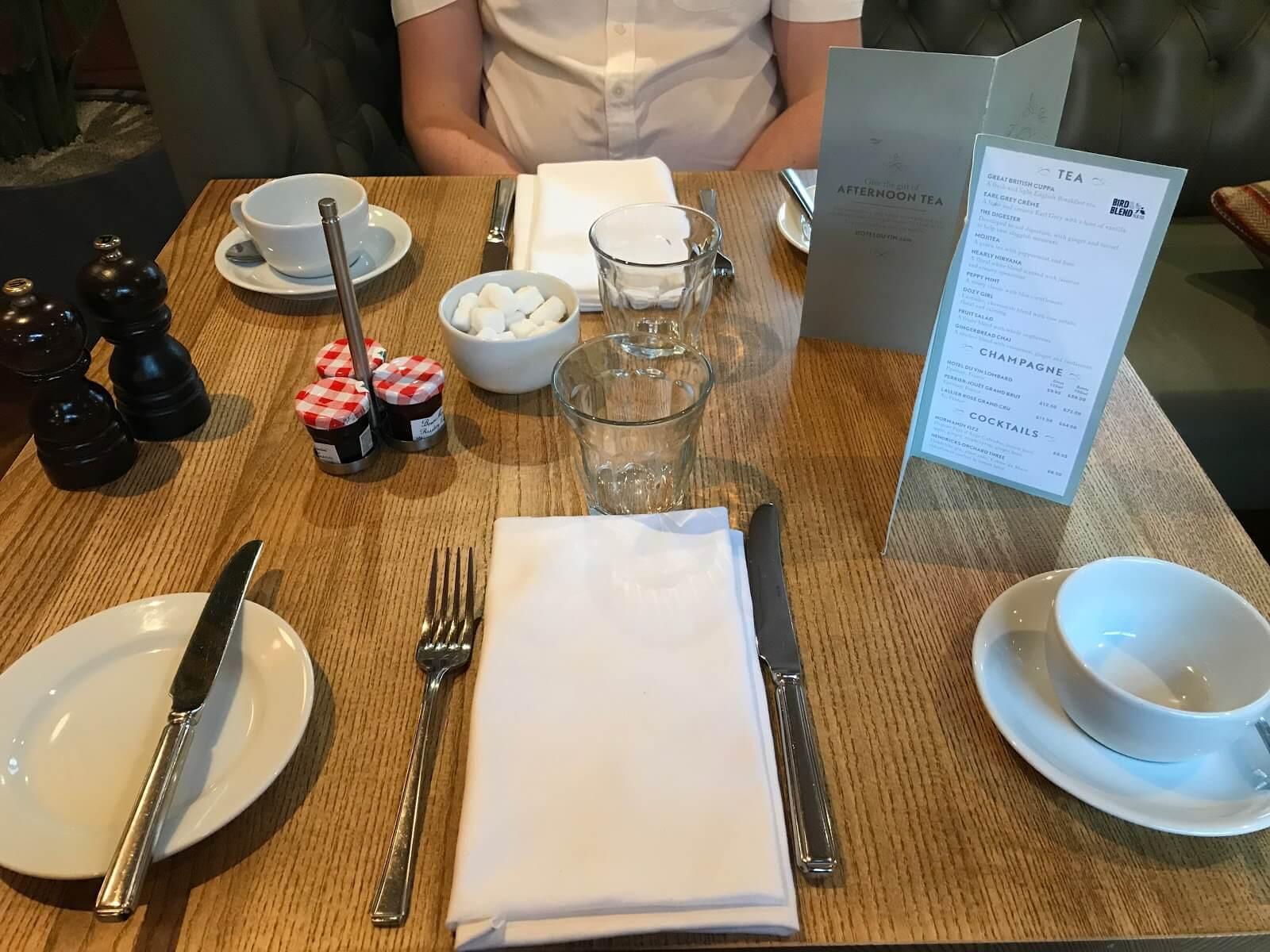 Hotel Du Vin York Afternoon Tea
