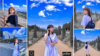 Polarr aplikasi kamera terbaik