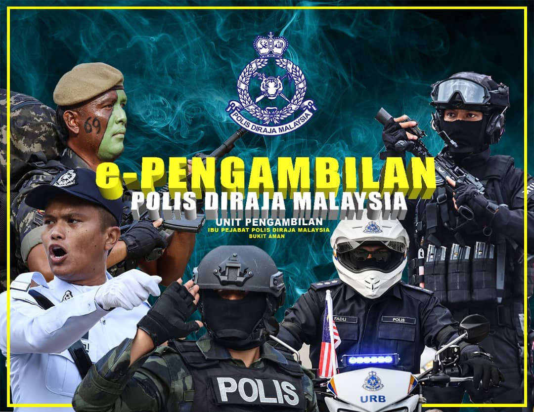 Permohonanterkini Permohonan Polis Diraja Malaysia Pdrm 2020 Online Konstabel Polis Ya1