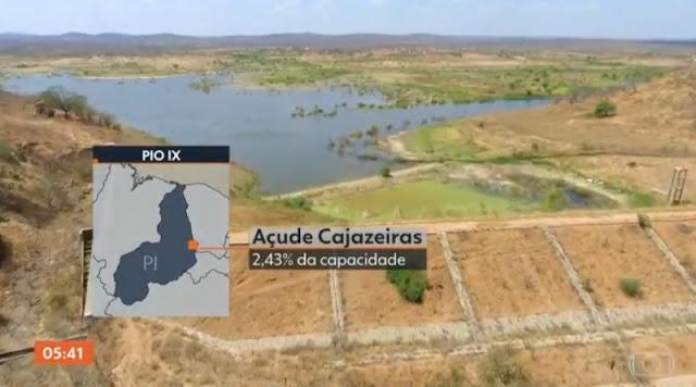 Reportagem da Globo mostra luta do sertanejo com a seca em  Fronteiras, Pio IX e região; assista