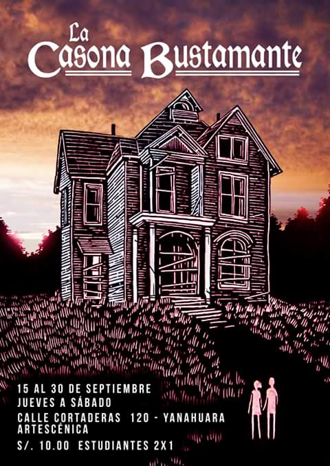 La Casona Bustamante - Teatro - Hasta el 01 de octubre