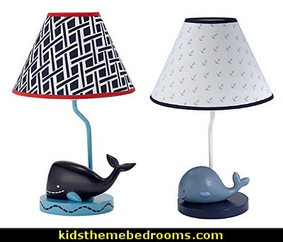 whale table lamp baby nursery decor whale lamps