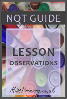 tips and advice for teachers lesson observations