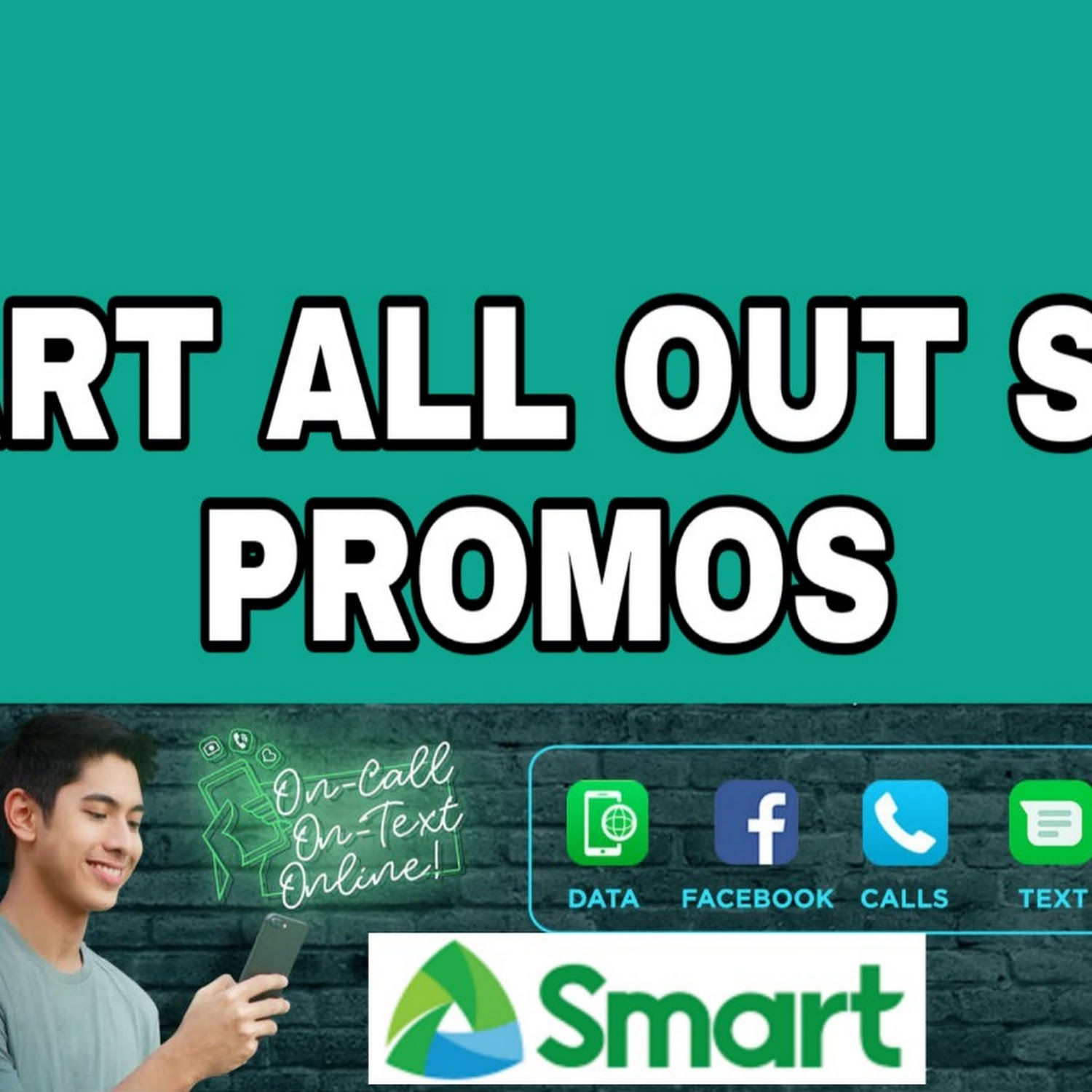 Smart All Out Surf Promos: Mobile Data + FB Data + Unlitext + Trinet Calls