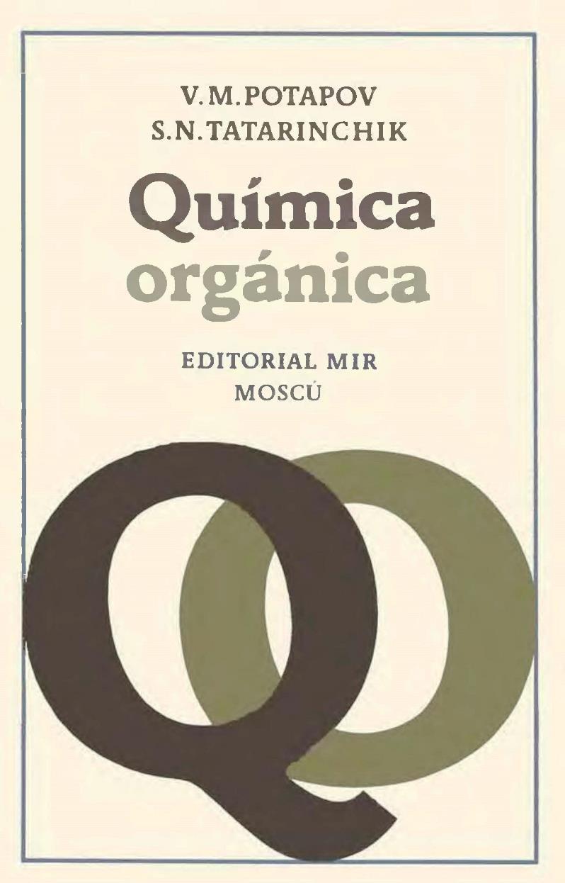 Química orgánica, 2da Edición – V. M. Potapov