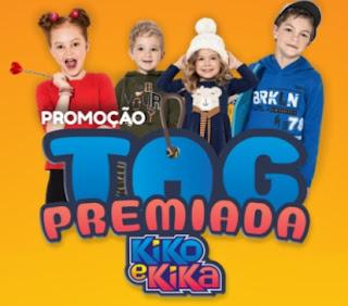 Cadastrar Promoção Kiko e Kika 2021 Tag Premiada Prêmios Todos os Dias