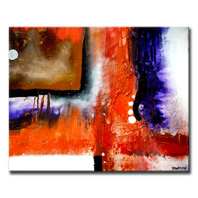 Abstract paintings by peter dranitsin above all acrylic for Black and white acrylic painting techniques