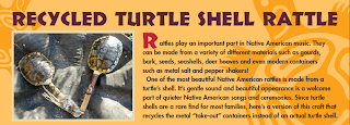 turtle shell rattle