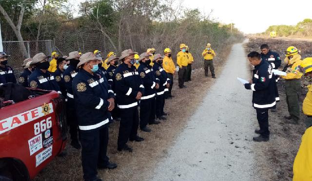 Comité Estatal de Prevención de Incendios trabaja para reducir riesgo de incidentes