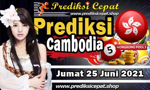 Prediksi Cambodia 25 Juni 2021