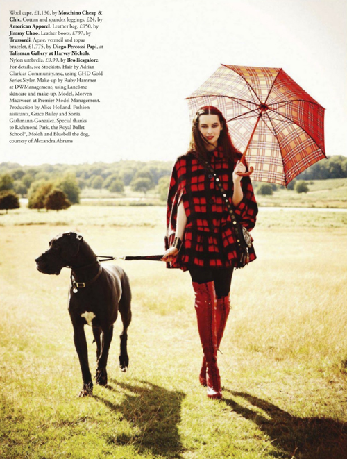 {fashion editorial : tartan & plaid and caledonia dreaming}