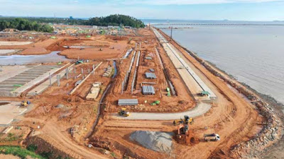 Terminal Pelabuhan Kijing Beroperasi Akhir Tahun Ini