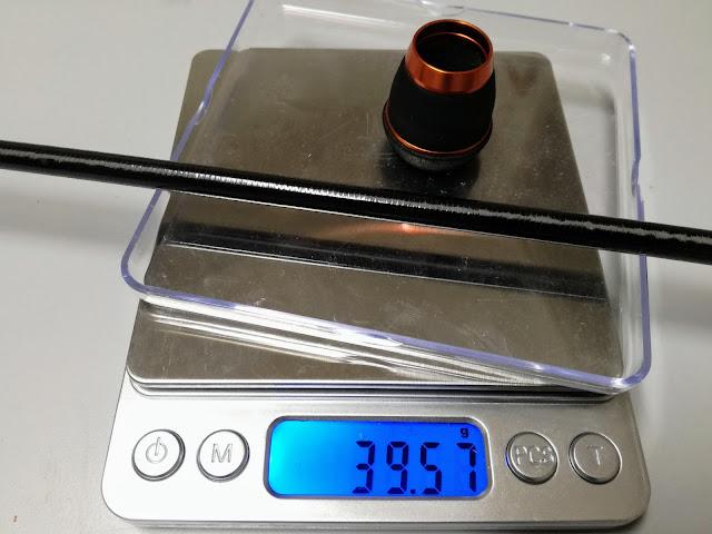 チタンティップアジングロッド 重さ