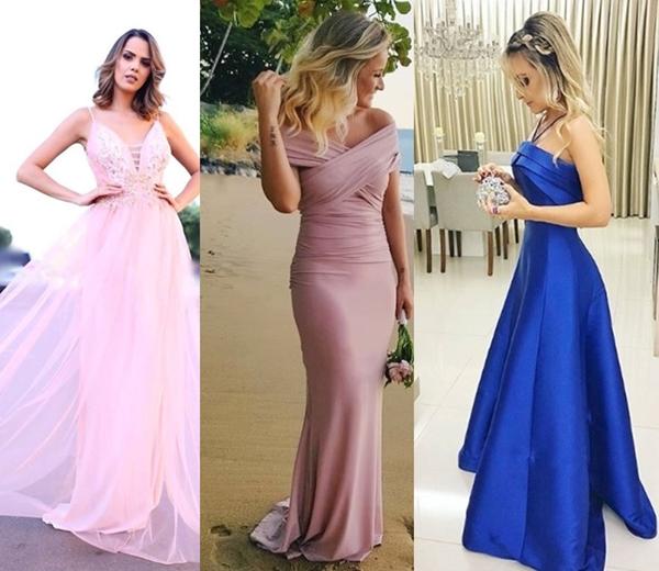 10 vestidos longos para madrinhas e formandas
