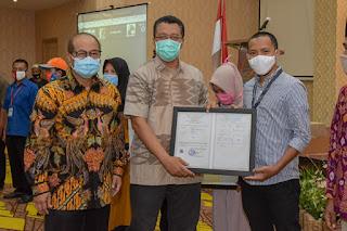 Gubernur NTB Beri Motivasi Pelaku UKM Terus Bangkit Ditengah Pandemi Covid19