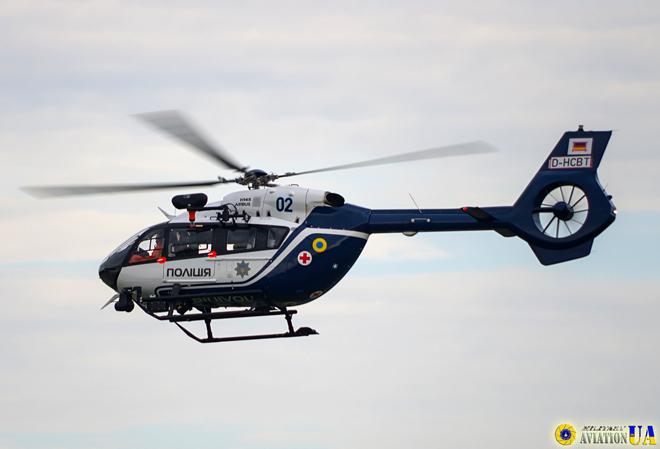 Прибули перші два гелікоптери H145 для МВС України
