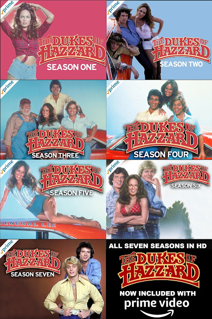 Huge Announcement! The Dukes of Hazzard Entire Series Now Streaming on Amazon Prime Video