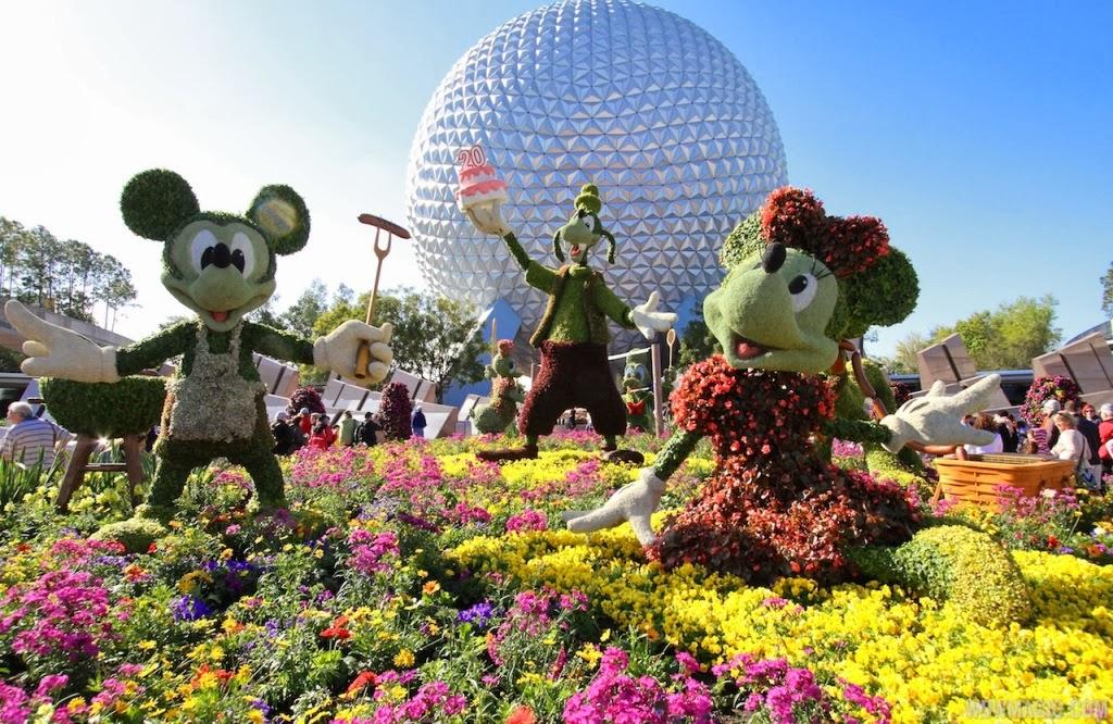 Epcot International Flower and Garden Festival em Orlando
