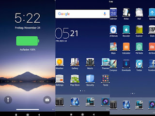 Night view MIUI theme download