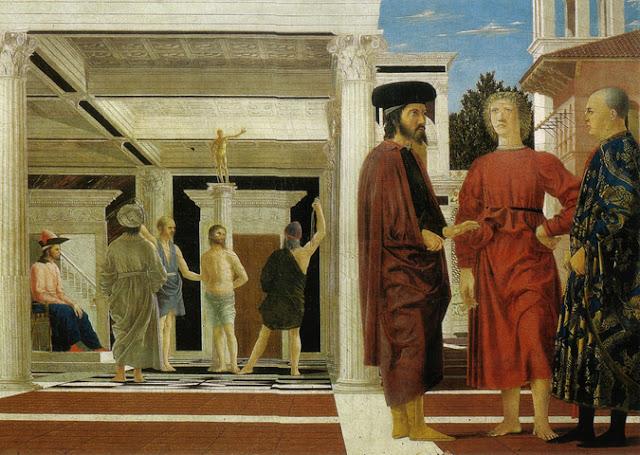 Flagellazione Piero della Francesca