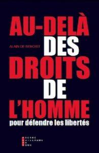 droits de l'homme, Alain de Benoist