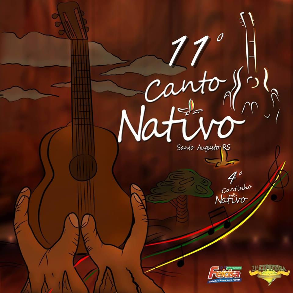 Comissão organizadora do 11º Canto Nativo divulga músicas classificadas para o festival que acontece no mês de agosto em Santo Augusto