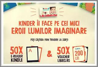 castigatori concurs kinder 2020 e-reader kindle