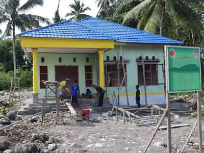 Pengerjaan TPQ dan Kantor Desa Mosso Hampir Tuntas