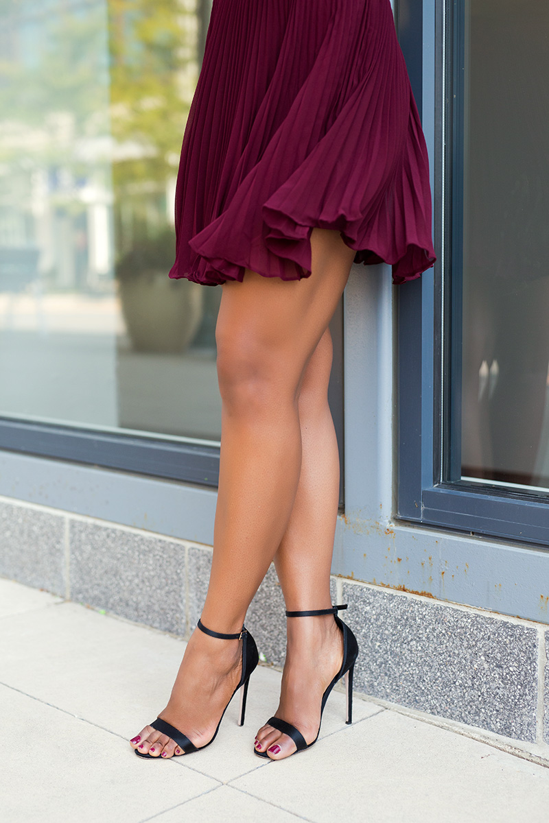 keepsake come back pleated mini dress, www.jadore-fashion.com