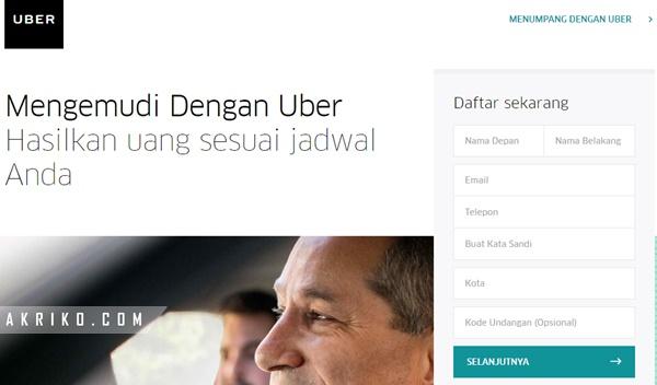 Cara Daftar Menjadi Driver Uber Motor