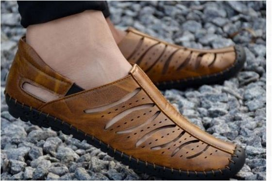 Launch Of Laser Cut Roman Sandals For Men