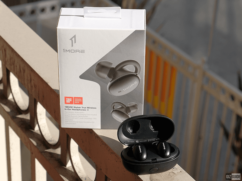 Box and 1More Stylish true wireless in-ear headphones