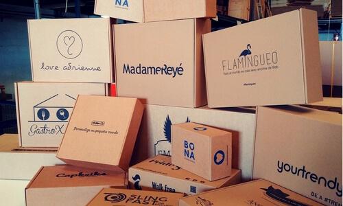 cajas de papel kraft