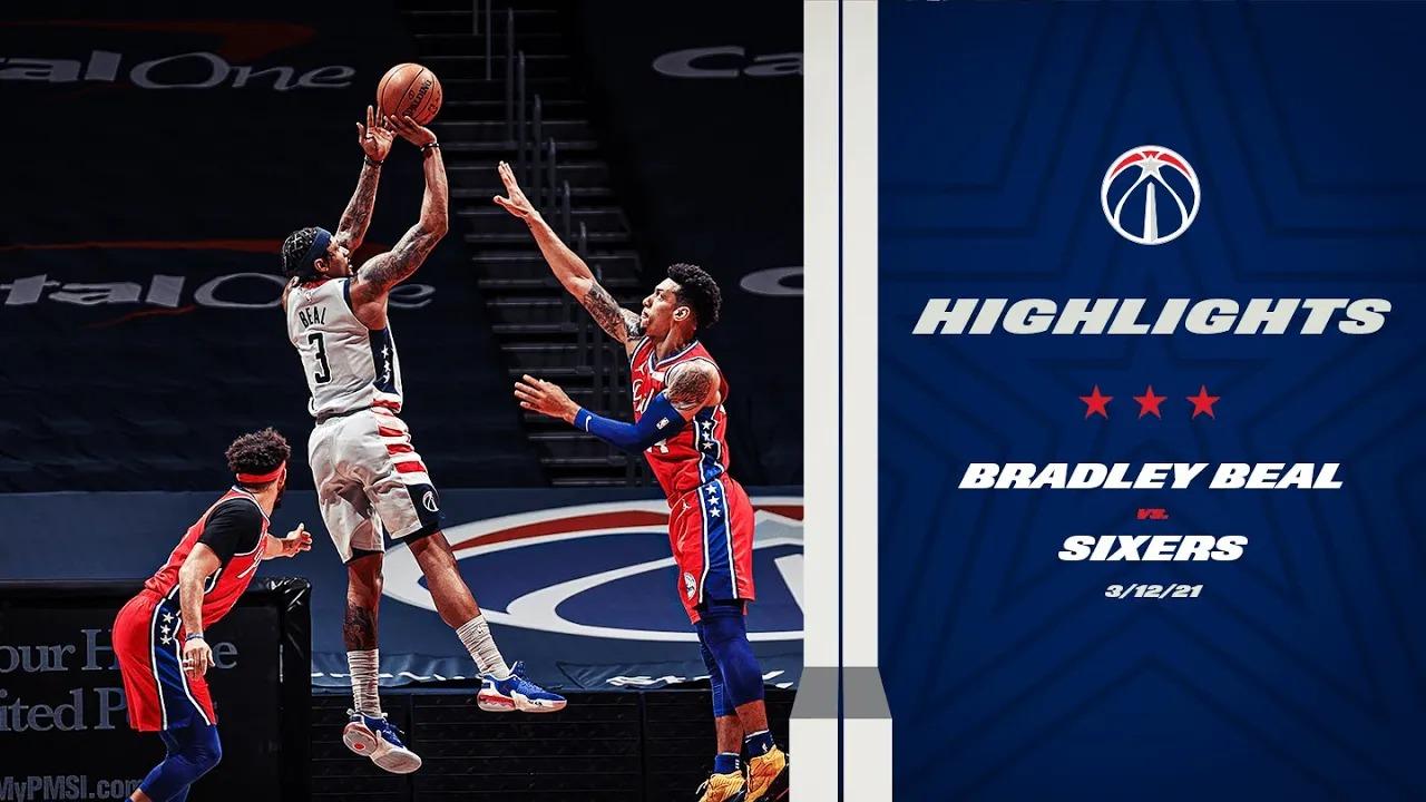 Bradley Beal 19pts vs PHI   March 12, 2021   2020-21 NBA Season