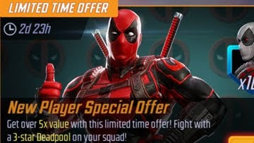 MARVEL Strike Force - New Player Special Offer