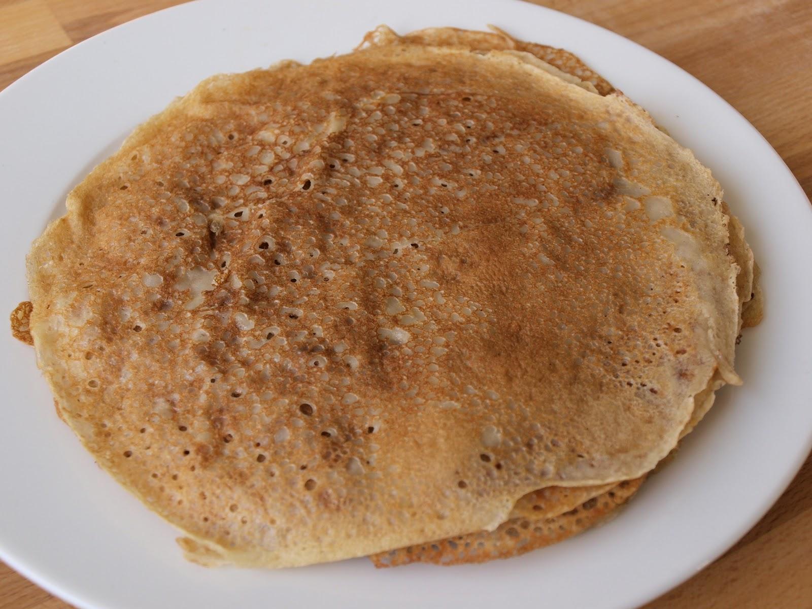 recept pannkakor utan ägg