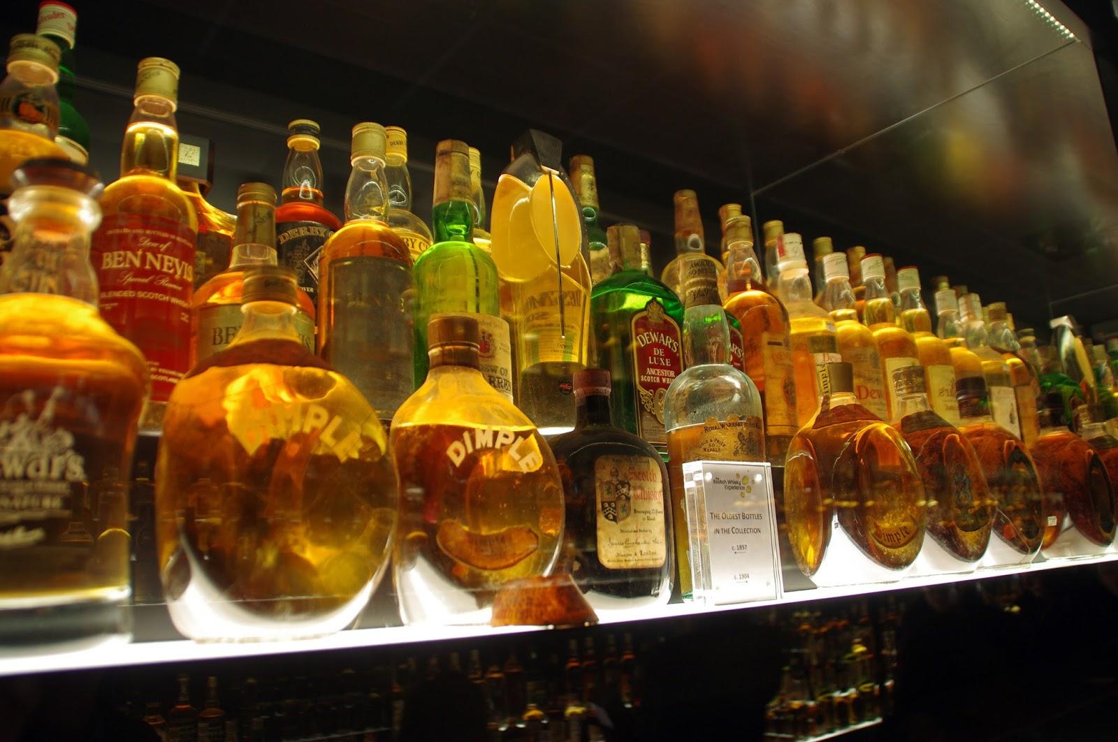 The Scotch Whisky Experience Edinburgh Scotland