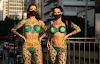 Candidatas ao Miss Bumbum 2021 tiram a roupa na Paulista em protesto contra Bolsonaro