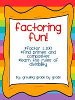 https://www.teacherspayteachers.com/Product/Factoring-Fun-340434