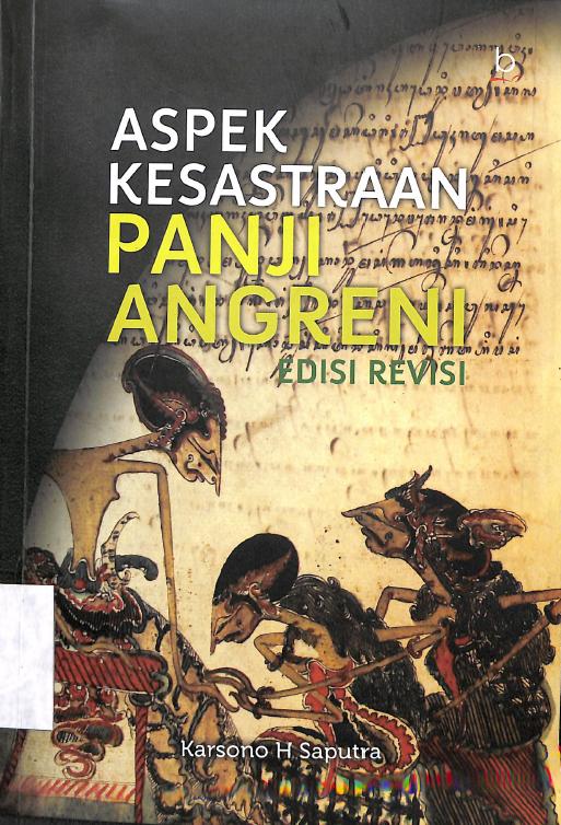 Perpustakaan Balai Bahasa Jawa Tengah: ASPEK KESASTRAAN ...