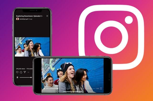 منصة Instagram IGTV ستدعم تشغيل مقاطع الفيديو أفقياً