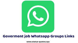 50+ Government Job Notifications Whatsapp Groups