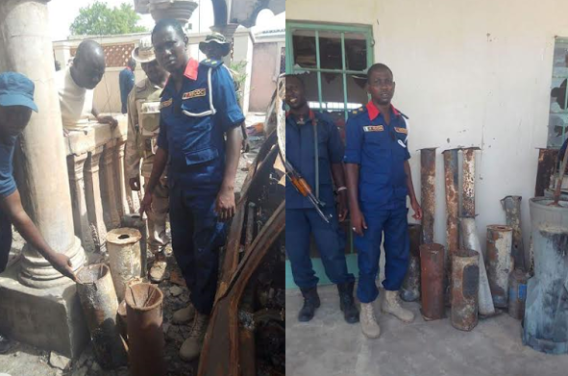 More photos: NSCDC discover bomb making factories in Borno