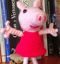 http://www.ravelry.com/patterns/library/cute-peppa-pig-duo